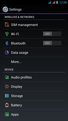 Wiko Stairway - Internet - Enable or disable - Step 4