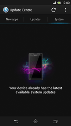 Sony C6603 Xperia Z - Network - Installing software updates - Step 8