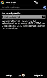 Samsung B7610 Omnia Qwerty - E-mail - handmatig instellen - Stap 7