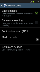 Samsung Galaxy S3 - Internet no telemóvel - Configurar ligação à internet -  6