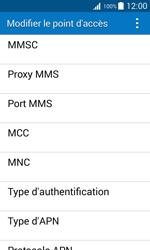 Samsung J100H Galaxy J1 - MMS - Configuration manuelle - Étape 12