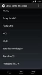 Motorola Moto X (2014) - Internet (APN) - Como configurar a internet do seu aparelho (APN Nextel) - Etapa 11