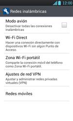 LG Optimus L7 - Internet - Configura el Internet - Paso 5