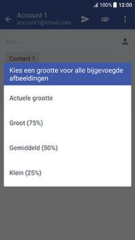 HTC U11 - E-mail - Bericht met attachment versturen - Stap 17