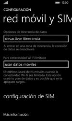 Nokia Lumia 635 - Mensajería - Configurar el equipo para mensajes multimedia - Paso 5