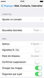 Apple iPhone 5 iOS 7 - E-mail - Configuration manuelle (outlook) - Étape 4