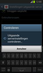 Samsung S7390 Galaxy Trend Lite - E-mail - Handmatig instellen - Stap 16