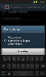 Samsung S7390 Galaxy Trend Lite - E-mail - Account instellen (IMAP met SMTP-verificatie) - Stap 16