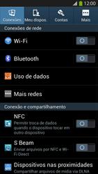 Samsung I9500 Galaxy S IV - Rede móvel - Como ativar e desativar uma rede de dados - Etapa 4