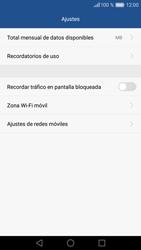 Huawei P9 Lite - Internet - Ver uso de datos - Paso 9