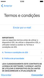 Apple iPhone 5s iOS 9 - Primeiros passos - Como ligar o telemóvel pela primeira vez -  20