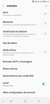 Samsung Galaxy J8 - Internet (APN) - Como configurar a internet do seu aparelho (APN Nextel) - Etapa 7