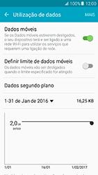 Samsung Galaxy A5 (2016) (A510F) - Internet no telemóvel - Como ativar os dados móveis -  6