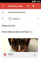 Motorola Moto C Plus - E-mails - Envoyer un e-mail - Étape 15