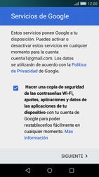 Huawei P8 Lite - E-mail - Configurar Gmail - Paso 14