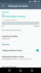 Sony Xperia XZ - Android Nougat - Internet no telemóvel - Como ativar os dados móveis -  7