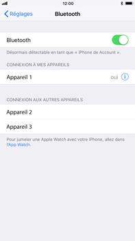 Apple iPhone 7 Plus iOS 11 - Bluetooth - connexion Bluetooth - Étape 8