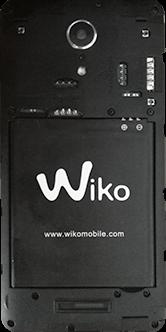 Wiko Tommy 2 - Premiers pas - Insérer la carte SIM - Étape 3