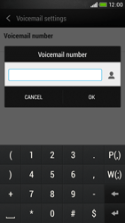 HTC Desire 601 - Voicemail - Manual configuration - Step 7