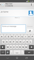 Sony Xpéria M2 - Contact, Appels, SMS/MMS - Envoyer un SMS - Étape 9