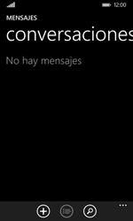 Nokia Lumia 635 - Mensajería - Configurar el equipo para mensajes de texto - Paso 4