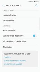 Samsung G935 Galaxy S7 Edge - Android Nougat - Appareil - Réinitialisation de la configuration d