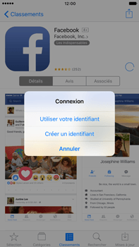 Apple Apple iPhone 6 Plus iOS 10 - Applications - Créer un compte - Étape 8