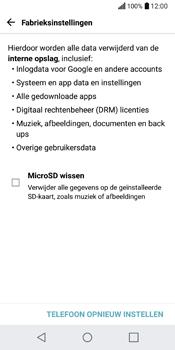 LG Q6 (LG M700n) - Instellingen aanpassen - Fabrieksinstellingen terugzetten - Stap 7