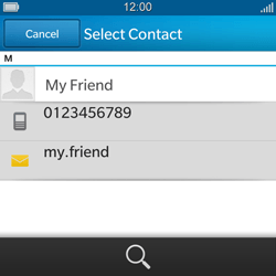 BlackBerry Q5 - Mms - Sending a picture message - Step 6