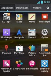 LG E610 Optimus L5 - Wifi - handmatig instellen - Stap 2