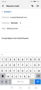 Huawei Mate 20 Pro - E-mail - envoyer un e-mail - Étape 7