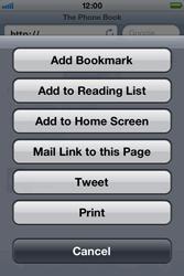 Apple iPhone 4 S - Internet - Internet browsing - Step 10