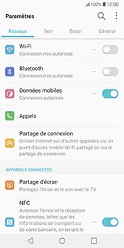 LG V30 - Wi-Fi - Se connecter à un réseau Wi-Fi - Étape 4