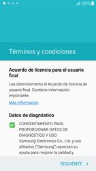 Samsung Galaxy J5 - Primeros pasos - Activar el equipo - Paso 6