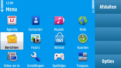 Nokia N97 - MMS - hoe te versturen - Stap 2