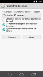 Huawei Ascend P6 LTE - E-mail - Configuration manuelle (outlook) - Étape 8