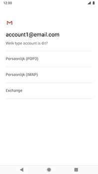 Nokia 8-sirocco-ta-1005-android-pie - E-mail - Account instellen (IMAP zonder SMTP-verificatie) - Stap 10