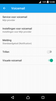 Sony Xperia Z5 Premium (E6853) - Android Nougat - Voicemail - Handmatig instellen - Stap 6