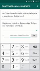 Samsung Galaxy A3 A310F 2016 - Aplicações - Como configurar o WhatsApp -  6