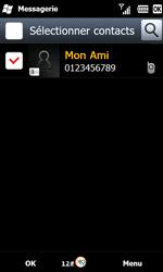 Samsung B7610 Omnia Qwerty - MMS - envoi d'images - Étape 7
