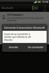 HTC A320e Desire C - Bluetooth - Jumeler avec un appareil - Étape 8