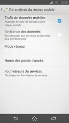 Sony Xperia Z3 Compact - Aller plus loin - Désactiver les données à l'étranger - Étape 7