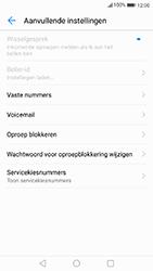 Huawei P8 Lite 2017 - Voicemail - handmatig instellen - Stap 7