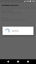Sony Xperia XA2 - Network - Manually select a network - Step 8