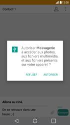LG G5 - Contact, Appels, SMS/MMS - Envoyer un MMS - Étape 13