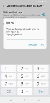 Samsung galaxy-note-9-sm-n960f - Beveiliging en ouderlijk toezicht - Hoe wijzig ik mijn SIM PIN-code - Stap 8
