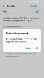 Samsung Galaxy A5 (2016) - Android Nougat - Bluetooth - koppelen met ander apparaat - Stap 10