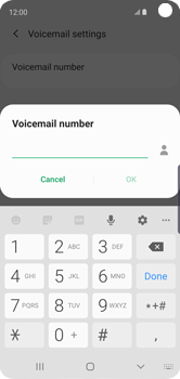 Samsung Galaxy S10e - Voicemail - Manual configuration - Step 11