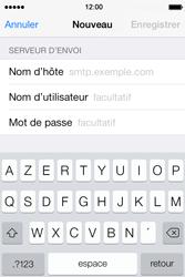 Apple iPhone 4 - E-mails - Ajouter ou modifier un compte e-mail - Étape 12