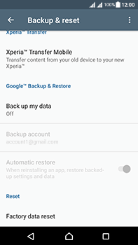 Sony Xperia L1 - Device maintenance - Create a backup of your data - Step 5